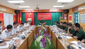 Tổng cục Kỹ thuật kiểm tra, đánh giá tình hình VKTBKT, kết quả công tác bảo đảm kỹ thuật của Bộ Tư lệnh Cảnh sát biển