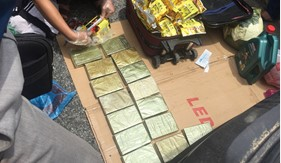 Cảnh sát biển phối hợp đấu tranh triệt phá đường dây vận chuyển chuyển ma túy số lượng lớn tại Hà Tĩnh
