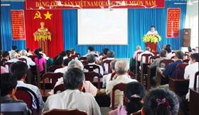 Bộ Tư lệnh Vùng Cảnh sát biển 3 tuyên truyền Luật Cảnh sát biển Việt Nam cho hơn 300 cán bộ chủ chốt địa phương