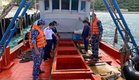 BTL Vùng Cảnh sát biển 3 tạm giữ tàu chở 30 nghìn lít dầu DO trái phép