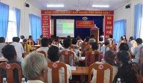 Đoàn Đặc nhiệm PCTP ma túy số 4 tuyên truyền phòng, chống ma túy và Luật Cảnh sát biển cho nhân dân trên địa bàn đóng quân
