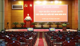 Tập huấn toàn quốc Luật Cảnh sát biển Việt Nam