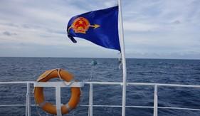 Tàu CSB 6001 cứu nạn tàu cá trên vùng biển phía nam
