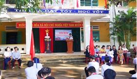 Hải đội 211 tuyên truyền biển đảo và chức năng, nhiệm vụ Cảnh sát biển cho giáo viên, học sinh