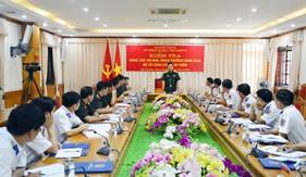 Bộ Quốc phòng kiểm tra công tác thi đua, khen thưởng năm 2020 của Bộ Tư lệnh Cảnh sát biển