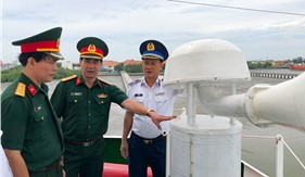 Cục Dân vận kiểm tra, nắm tình hình tại Bộ Tư lệnh Vùng Cảnh sát biển 3