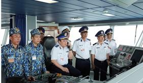 Hoàn thành kiểm tra toàn diện công tác Cảnh sát biển năm 2020 đối với Bộ Tư lệnh Vùng Cảnh sát biển 3