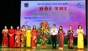 Cơ quan Bộ Tư lệnh Cảnh sát biển tổ chức Hội thi Duyên dáng áo dài Việt Nam