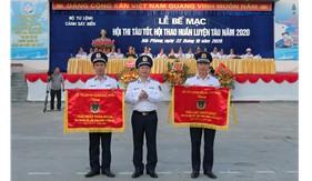 Bế mạc Hội thi Tàu tốt, Hội thao Huấn luyện tàu cấp Bộ Tư lệnh Cảnh sát biển năm 2020