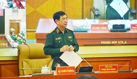 Bộ Quốc phòng tổ chức rút kinh nghiệm công tác phòng, chống và khắc phục hậu quả mưa lũ khu vực miền Trung