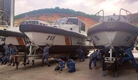 Hải đoàn 32 chủ động phòng chống bão số 10