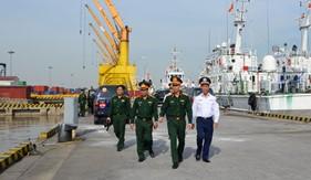 Bộ Tổng Tham mưu kiểm tra kết quả xây dựng đơn vị vững mạnh toàn diện tại Bộ Tư lệnh Vùng Cảnh sát biển 1