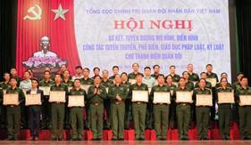 Hội nghị sơ kết, tuyên dương mô hình, điển hình công tác tuyên truyền, phổ biến, giáo dục pháp luật, kỷ luật cho Thanh niên Quân đội