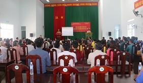 Đoàn Đặc nhiệm PCTP ma túy số 3 tuyên truyền phòng, chống ma túy cho cán bộ, nhân dân, đồng bào tôn giáo xã Phú Hữu