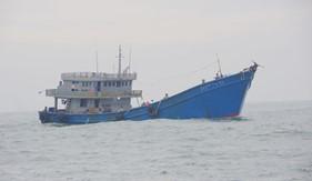 Bộ Tư lệnh Vùng Cảnh sát biển 3 tạm giữ khoảng 210.000 lít dầu DO không rõ nguồn gốc