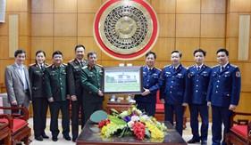 Ủy ban Quốc phòng và An ninh Quốc hội thăm Bộ Tư lệnh Vùng Cảnh sát biển 1