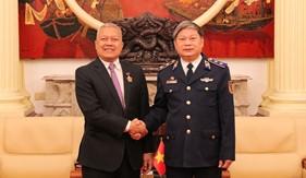 Tư lệnh Cảnh sát biển tiếp đón và chào chia tay Đại sứ Indonesia tại Việt Nam