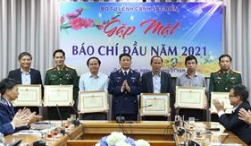 Bộ Tư lệnh Cảnh sát biển tổng kết công tác phối hợp tuyên truyền khu vực miền Trung