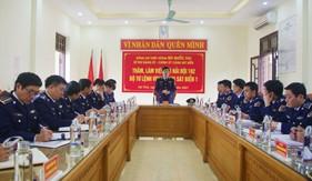 Chính ủy Cảnh Sát biển thăm, kiểm tra công tác sẵn sàng chiến đấu Hải đội 102