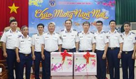 Bộ Tư lệnh Cảnh sát biển kiểm tra công tác sẵn sàng chiến đấu tại Bộ Tư lệnh Vùng Cảnh sát biển 3