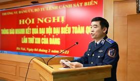 Thường vụ Đảng ủy, Bộ Tư lệnh Cảnh sát biển thông báo nhanh kết quả Đại hội XIII của Đảng