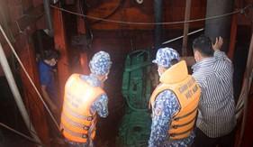 Bộ Tư lệnh Vùng Cảnh sát biển 4 cứu nạn thành công tàu cá CM92411TS tại vùng biển Tây Nam