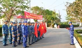 Tuổi trẻ Liên Chi đoàn Hải đội 211 xung kích thực hiện nhiệm vụ, hưởng ứng Tháng Thanh niên năm 2021