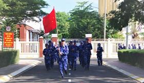"""Bộ Tư lệnh Vùng Cảnh sát biển 3 hưởng ứng ngày chạy thể thao """"CISM"""""""