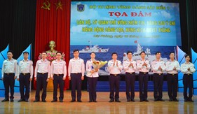 Bộ Tư lệnh Vùng Cảnh sát biển 1 sôi nổi các hoạt động hưởng ứng Tháng Thanh niên năm 2021