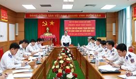 Bộ Tư lệnh Cảnh sát biển chuẩn bị tổ chức Hội thi cán bộ ngành Tham mưu giỏi năm 2021