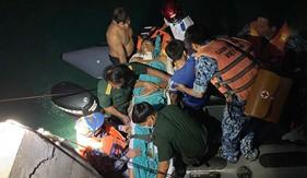 Bộ Tư lệnh Vùng Cảnh sát biển 4 cấp cứu quân nhân trên đảo Thổ Châu