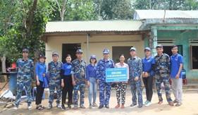 Hải đội 212 hoàn thành sửa chữa, nâng cấp nhà cho gia đình khó khăn xã Tam Quang