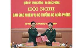 Quân ủy Trung ương, Bộ Quốc phòng tổ chức Hội nghị bàn giao nhiệm vụ Bộ trưởng Bộ Quốc phòng