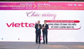Viettel nhận nhiều giải thưởng nhất trong lĩnh vực viễn thông và điện toán đám mây