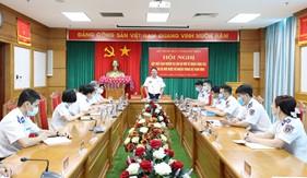 Gặp mặt giao nhiệm vụ cho cán bộ mới về nhận công tác tại Bộ Tham mưu Cảnh sát biển