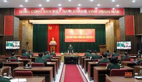 Hội nghị giao ban trực tuyến toàn quân về phòng chống Covid- 19