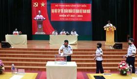 Đại hội tập thể quân nhân cơ quan Bộ Tham mưu Cảnh sát biển nhiệm kỳ 2021 - 2023