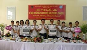 """Hội Phụ nữ Đoàn Đặc nhiệm PCTP ma túy số 1 tổ chức Hội thi nấu ăn """"Bữa cơm gia đình, ấm áp yêu thương"""""""