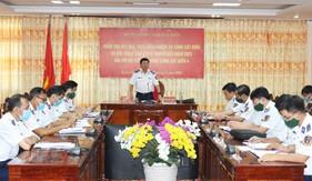 Kiểm tra kết quả thực hiện nhiệm vụ Cảnh sát biển tại Bộ Tư lệnh Vùng Cảnh sát biển 4