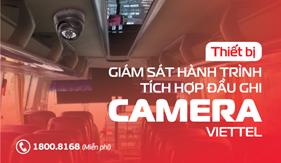 Viettel chính thức cung cấp bộ thiết bị Camera kèm đầu ghi có tích hợp giám sát hành trình 4G hợp chuẩn, hợp quy và đáp ứng yêu cầu của Nghị định 10