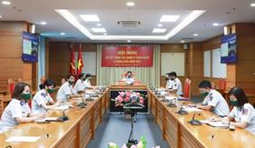 Hội nghị sơ kết công tác quân y toàn quân 6 tháng đầu năm 2021