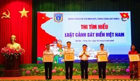 """Các cơ quan chức năng Bộ Quốc phòng chung tay tổ chức cuộc thi trực tuyến """"Tìm hiểu Luật Cảnh sát biển Việt Nam"""""""