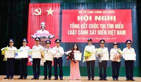 """Cơ cấu giải thưởng cuộc thi trực tuyến """"Tìm hiểu Luật Cảnh sát biển Việt Nam"""" cấp toàn quốc"""