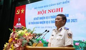 Bộ Tham mưu triển khai nhiệm vụ 6 tháng cuối năm 2021