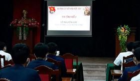 Tuổi trẻ Bộ Tư lệnh Vùng Cảnh sát biển 2 tích cực hưởng ứng Cuộc thi tìm hiểu về Đại tướng Võ Nguyên Giáp