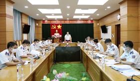 """Ban Chỉ đạo phong trào thi đua """"Ngành Hậu cần Quân đội làm theo lời Bác Hồ dạy"""" cấp Bộ Tư lệnh Cảnh sát biển họp triển khai nhiệm vụ"""