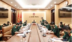 Bộ Quốc phòng tiếp tục triển khai đồng bộ các biện pháp phòng, chống dịch Covid-19