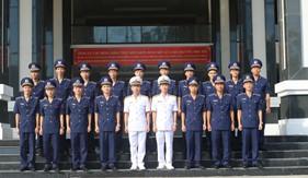 Học viện Hải quân tổ chức lễ tốt nghiệp cho học viên đào tào chuyên ngành Cảnh sát biển khóa 61
