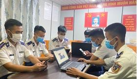 """Hải đoàn 21: Triển khai nhiều hình thức, biện pháp tham gia Cuộc thi trực tuyến toàn quốc """"Tìm hiểu Luật Cảnh sát biển Việt Nam"""""""