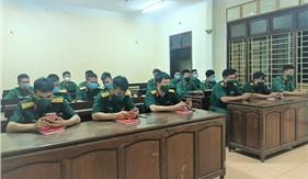 """Các đơn vị Bộ Chỉ huy quân sự tỉnh Thừa Thiên Huế tích cực tham gia Cuộc thi trực tuyến """"Tìm hiểu Luật Cảnh sát biển Việt Nam"""""""